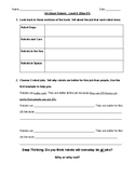 Comprehension Questions for LLI Blue System Level K Lessons 81-90