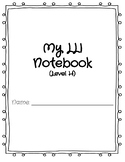 LLI Blue Kit Level H Notebook- Lessons 51-60