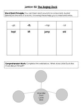 LLI Blue Kit Level K Notebook- Lessons 81-90