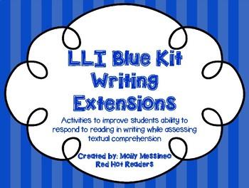 LLI Blue Kit Writing Extensions