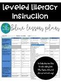 LLI Lesson Plan Template Blue Kit