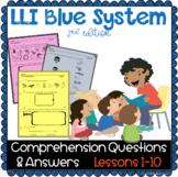 LLI BLUE Comprehension Lessons 1 - 10