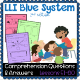 LLI Blue System - Comprehension Questions + Answers - Less