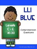 LLI Blue System Comprehension Questions   Levels C - E:  Books 1 - 30