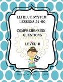 LLI Blue System Comprehension Questions for Lessons 51-60