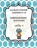 LLI Blue System Comprehension Questions for Lessons 6-10