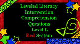 LLI Comprehension Multiple Choice Assessment Level L Red System