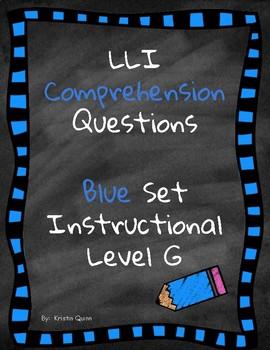 LLI Comprehension Questions