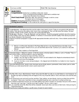LLI GOLD System Lesson Plan 34 P