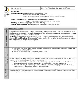 LLI GOLD System Lesson Plan 36 P