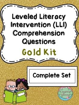 LLI Gold Kit Comprehension Questions (Full Set)