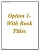 LLI Gold Level Q Vocabulary Sheets