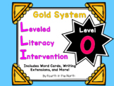 LLI Gold System Student Lesson Activities- Level O