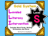 LLI Gold System Student Lesson Activities- Level S
