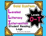 LLI Gold System Student Reading Logs