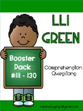 LLI Green Comprehension Questions Booster (#111-130) First