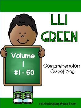 LLI Green Comprehension Questions Volume 1 (#1-60)