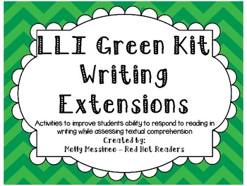 LLI Green KIt Writing Extensions