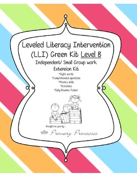 LLI Green Kit Level B Remediation Kit