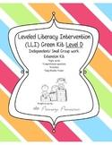 LLI Green Kit Level D Remediation/ Small Group Kit