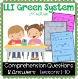 LLI GREEN Kit Comprehension Lessons 1 - 10