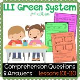 LLI GREEN Kit Comprehension Lessons 101 - 110