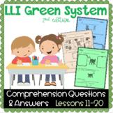 LLI GREEN Kit Comprehension Lessons 11 - 20