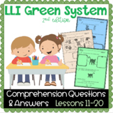 LLI GREEN Kit Comprehension Lessons 11 - 20
