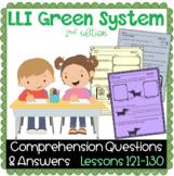 LLI GREEN Kit Comprehension Lessons 121 - 130
