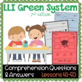 LLI GREEN Kit Comprehension Lessons 41 - 50