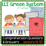 LLI GREEN Kit Comprehension Lessons 41 - 50