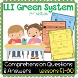 LLI GREEN Kit Comprehension Lessons 51 - 60