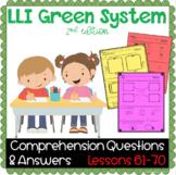LLI GREEN Kit Comprehension Lessons 61 - 70