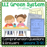 LLI GREEN Kit Comprehension Lessons 71 - 80