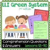LLI GREEN Kit Comprehension Lessons 81 - 90