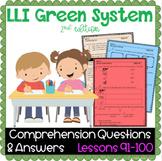 LLI GREEN Kit Comprehension Lessons 91 - 100