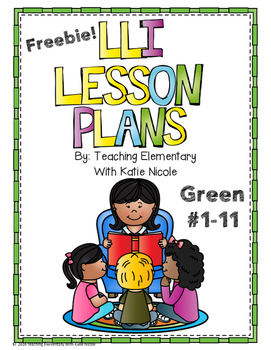 Green System Lesson Plans #1-11 Freebie!