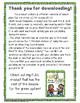 Green System Lesson Plans #1-11 Freebie!