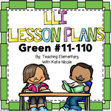 1st Grade Reading Lesson Plans #11-110