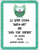 """LLI Green System Lessons #55-#59 """"Warm-Ups"""" and """"Check You"""