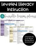 LLI Lesson Plan Template Bundle