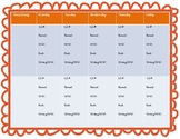 LLI Lesson Plan Templates- Print and Write