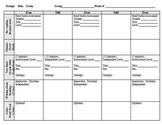 LLI Lesson Plan Templates even days