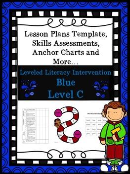 LLI Anchor Charts Skills Assessments Lesson Plan Templates More Blue C Version 1