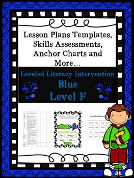 LLI Anchor Charts Skills Assessments Lesson Plan Templates More Blue F Version 1