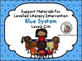 LLI  Leveled Literacy Intervention Blue Kit Support Bundle