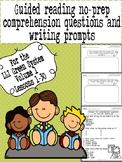 Green LLI No-Prep Comprehension Questions and Writing Prompts Part 1!