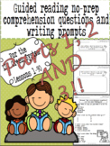 Green LLI No-Prep Comprehension Questions and Writing Prompts Part 1, 2 AND 3!