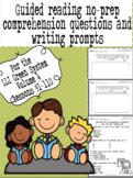 Green LLI No-Prep Comprehension Questions and Writing Prompts Part 4!
