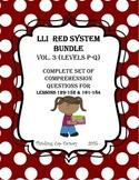 LLI RED System Bundle of Comprehension Questions (Vol. 3-L
